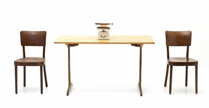 Tische aus holz hochwertig vintage oder neu viadukt 3 for Bistrotisch buche