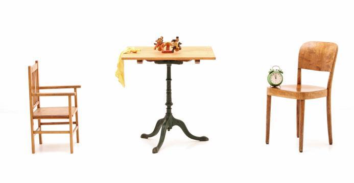 Tische aus holz hochwertig vintage oder neu viadukt 3 for Kleiner bistrotisch